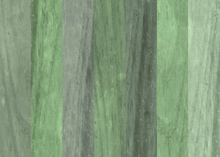 green striped wooden background with distressed look photo
