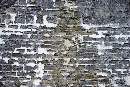 close up of bricks of fort for background texture photo