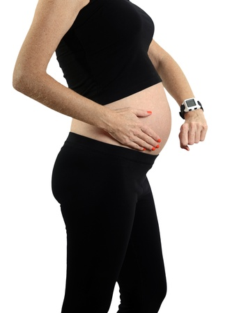 contractions: timing contractions and going into labor during pregnancy