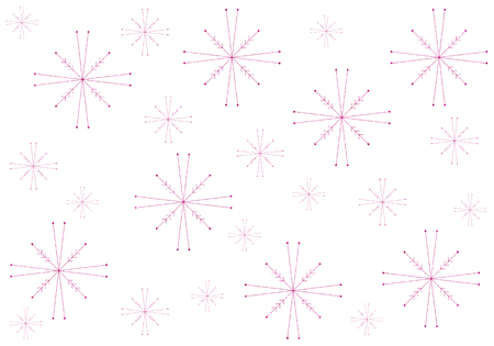 glitzy: pink sparkling snowflake background for holidays