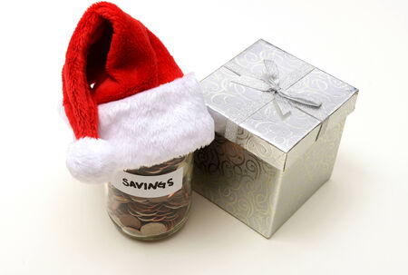 christmas savings: holiday savings at christmas concept