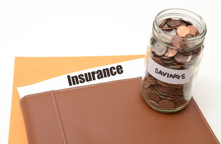 save money on insurance concept