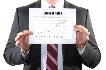 Interest Rate Hike or rising concept 免版税图像 - 29843127