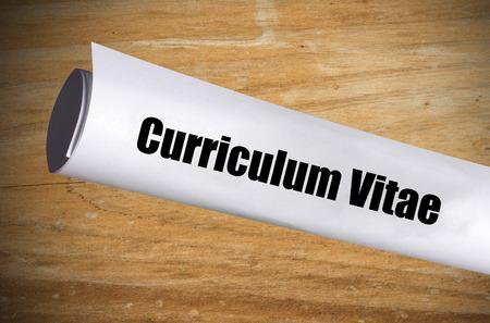 a curriculum vitae when applying for a job