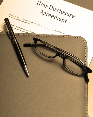 disclosure: An official non-disclosure agreement