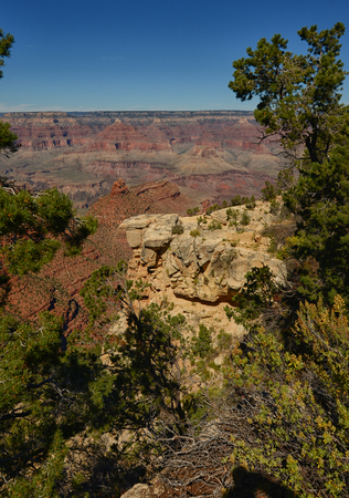 south rim: The Grand Canyon in arizona fro the south rim