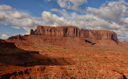 butte: Butte in Monument Valley Utah or Arizona