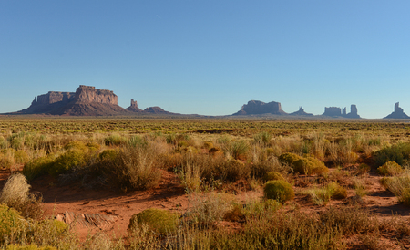 southwest: Monument Valley landscape in the southwest