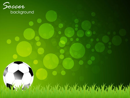 active content: Abstract sport soccer background - template Illustration