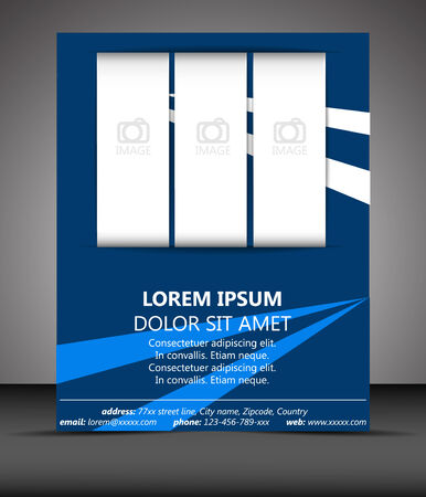 temlate: Professional business flyer temlate or corporate banner