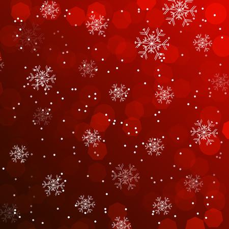 Kerst wallpaper, achtergrond met sneeuwvlokken