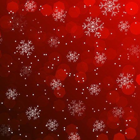 Christmas wallpaper, background with snowflakes