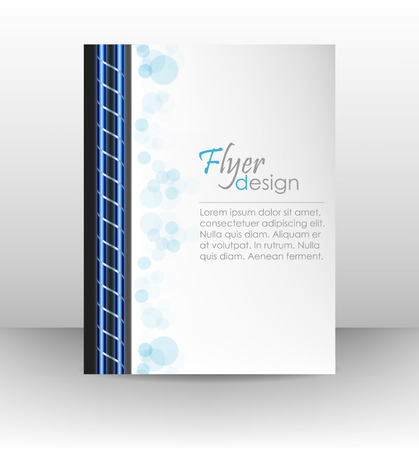 workbook: Business flyer template, corporate banner, cover design, workbook