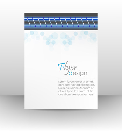 business flyer template corporate banner cover design workbook