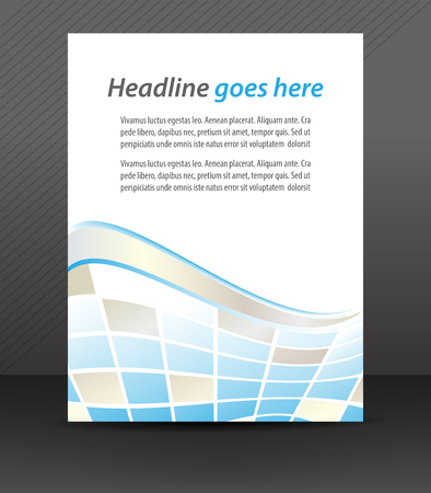 Professional business flyer template or corporate banner, cover deisgn Vector