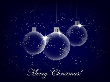 Christmas background with decoration and christmas ball, christmas greeting card