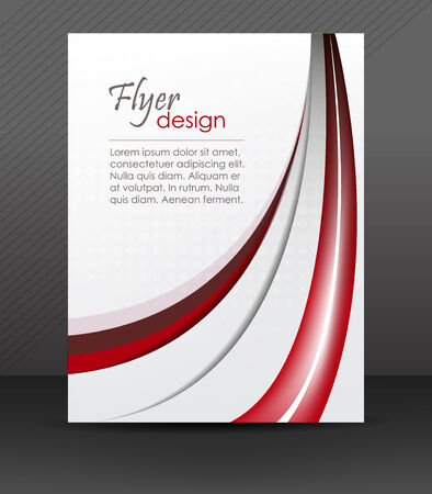 Abstract flyer or cover design Illustration