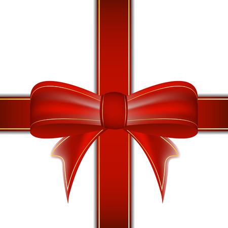 weihnachtsschleife: Weihnachten Band Vektor Hintergrund