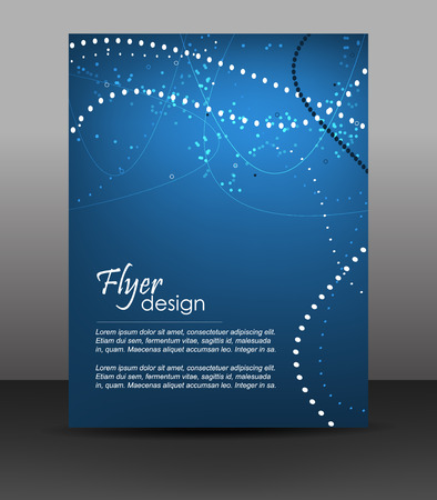 Professional business flyer template or corporate banner, brochure, cover design Vector