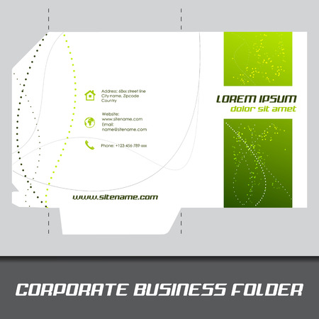 Corporate business folder or document folder template editable corporate business folder or document folder template editable vector design stock vector 33024391 accmission Images