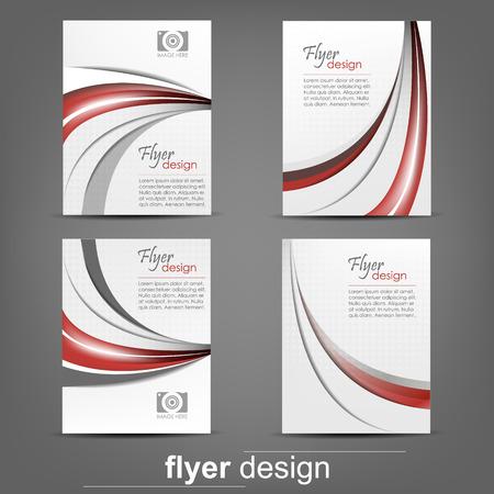 표지 디자인 사업 플라이어 템플릿의 설정, 문서 폴더