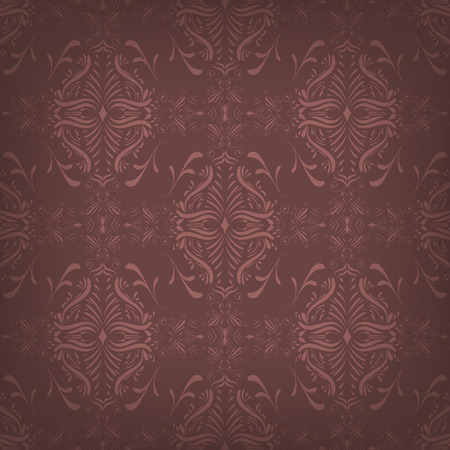 red wallpaper: Dark red vector seamless wallpaper with abstract pattern Illustration