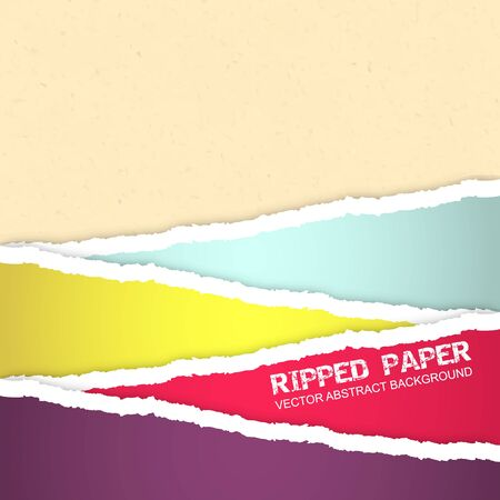 tearing: Ripped paper vector background editable vector design Illustration