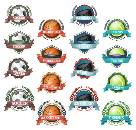 challange: Vector icons of very popular sports. Design for your sport graphic project.