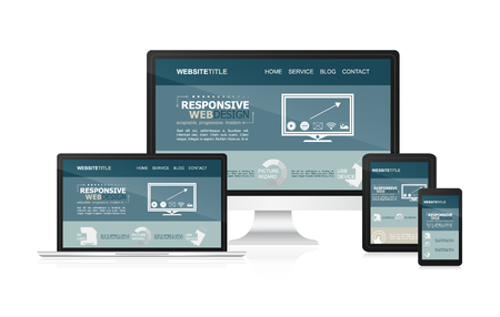 adaptable: Responsive design and web devices.