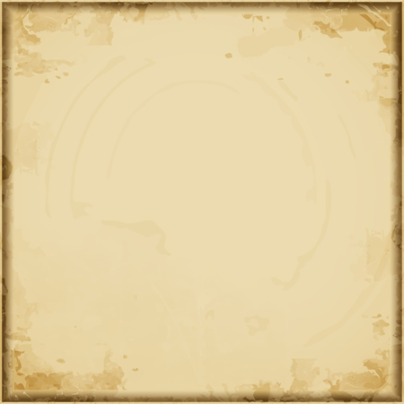 worn paper: Vintage paper vector grunge background. Worn paper with stains.