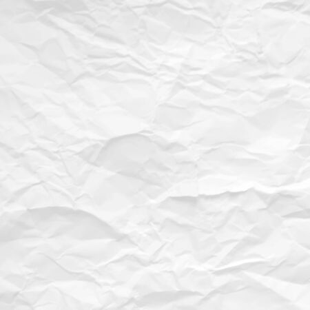 Gray crumpled paper texture design. Vector illustration. Stock Vector - 80340944