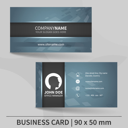 Business card template design for your individual or business business card template design for your individual or business presentation suitable for printing colourmoves