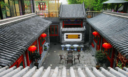 Beijing Siheyuan, China