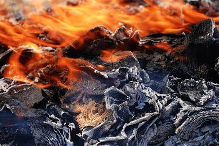 Burning joss paper