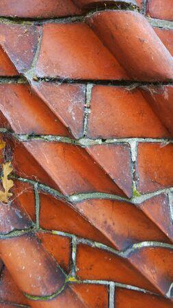 paredes de ladrillos: Ladrillos Foto de archivo