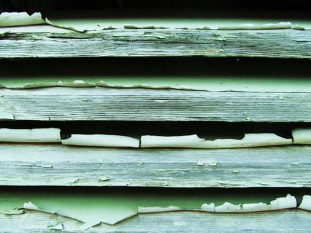 Old weathered peeling paint
