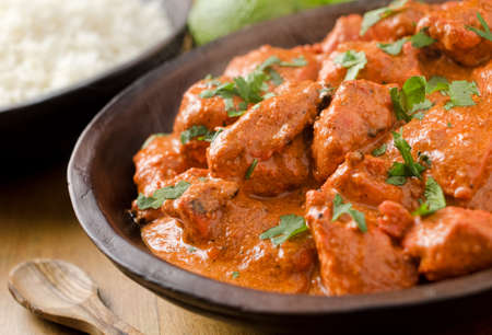 curry chicken: Butter Chicken