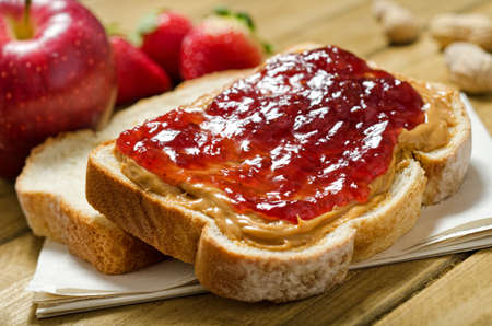 peanut butter and jelly sandwich: Peanut Butter and Jelly Sandwich