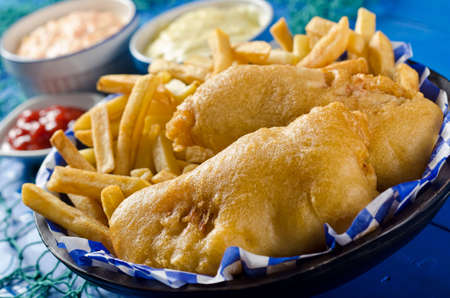 Two Piece Fish and Chips photo