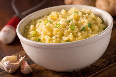 Garlic Mashed Potatoes 写真素材