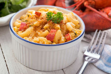 elbows: Lobster Macaroni and Cheese