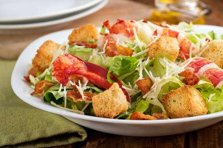 caesar salad: Lobster Caesar Salad