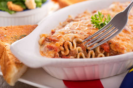 Lasagna Stock Photo