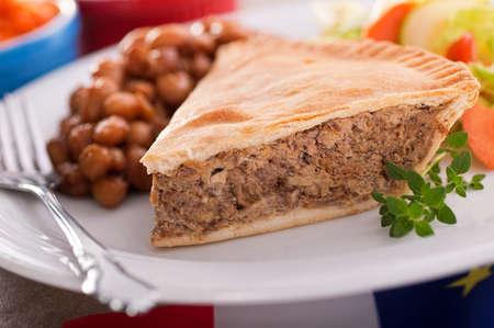 meat pie: Meat Pie Stock Photo