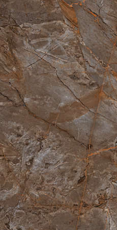 brown color natural marble design with gloss surface stone texture and veins high resolution image for tiles and slabs design