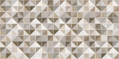 mosaic tiles in brown and ivory color for wall tiles and wallpaper use