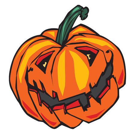 Halloween Pumpkin Ilustração