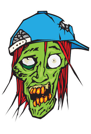 undead: Zombie with a hat