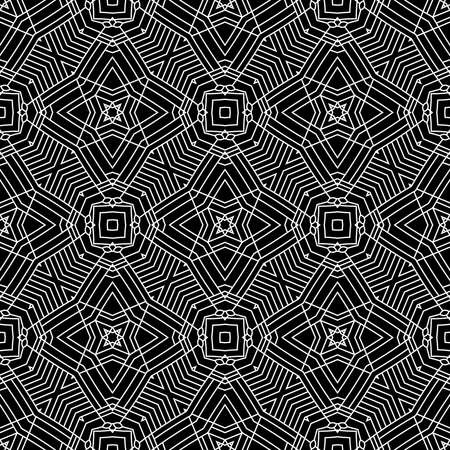 web2: Abstract linear background, seamless pattern, vector