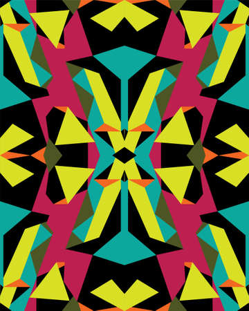 geometrical: Abstract geometrical seamless pattern, vector Illustration
